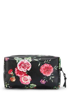 SheIn - Flower Print Zipper Makeup Bag
