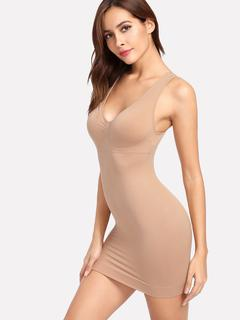 SheIn - Ruched Detail Shapewear Slips