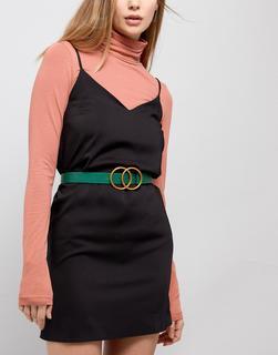 ASOS DESIGN - double circle waist & hip jeans belt