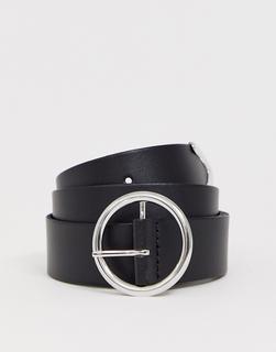 ASOS DESIGN - logo buckle jeans belt