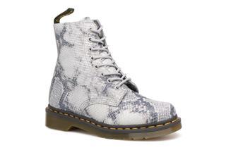 DR. MARTENS - Pascal Snake - Stiefeletten & Boots für Damen / grau