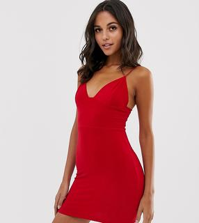Fashionkilla - Camisole-Minikleid in Rot