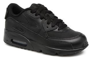 Nike - NIKE AIR MAX 90 MESH (PS) - Sneaker für Kinder / schwarz