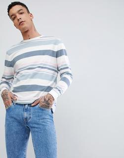 ASOS DESIGN - relaxed retro striped long sleeve t-shirt