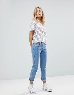 Levis - Levi's - 501 - Schmal zulaufende Jeans mit hohem Bund - Blau