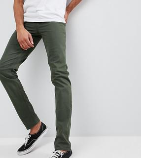 ASOS DESIGN - Tall slim jeans in green
