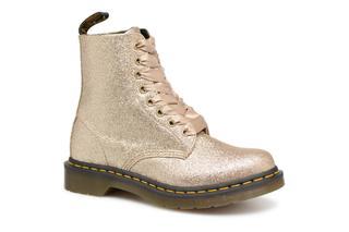 DR. MARTENS - 1460 Pascal Glitter - Stiefeletten & Boots für Damen / gold/bronze