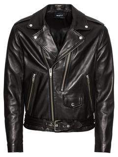 The Kooples - Lederjacke ´LEATHER JACKET WITH DOUBLE PULLER FRONT AND CENTRE´