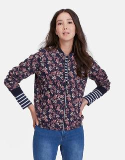 Joules Clothing - Leaf Jacquard Tilly Bomber Jacket  Size 8