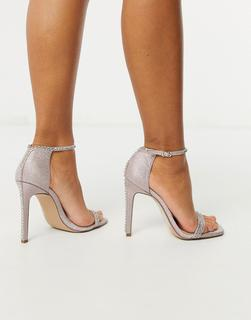 ASOS DESIGN - Poker Slingback High Heels