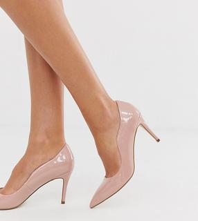 Miss KG - Corinthia – Beige Pumps in weiter Passform