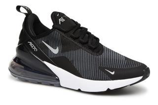Nike - Air Max 270 Knit Jacquard - Sneaker für Kinder / schwarz