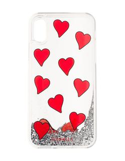 Iphoria - iPhone X/Xs Transparent Hearts