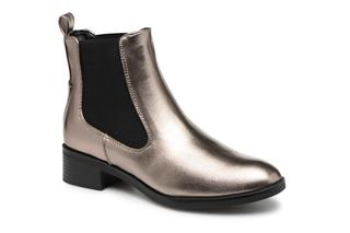 ONLY - onlBRIGHT  PU BOOTIE - Stiefeletten & Boots für Damen / silber