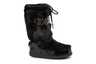 Love Moschino - Ecu Fur Ski-boots - Sportschuhe für Damen / schwarz
