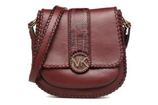 MICHAEL Michael Kors - LILLIE MD FLAP MESSENGER - Handtaschen / weinrot