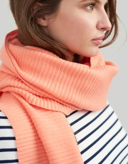 Joules Clothing - Orange Pemberton Crinkle Scarf  Size One Size