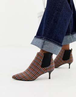 Essentiel Antwerp - ankle boots in mini check