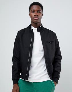ASOS DESIGN - harrington jacket in black