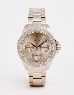 Boss - 1502443 Premiere bracelet watch in rose gold