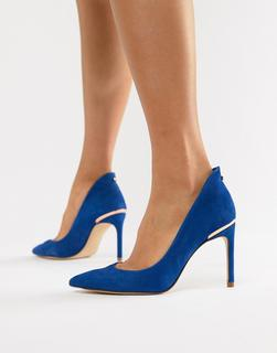 TED BAKER - suede pointed high heels