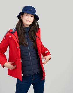 Joules Clothing - Red Coast Waterproof Jacket  Size 16