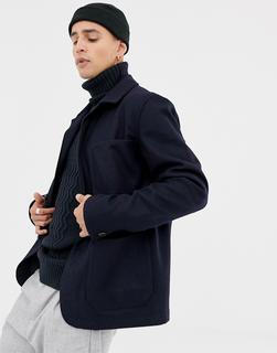 Selected Homme - patch pocket jacket