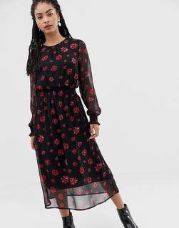 minimum - Moves By Minimum floral midi dress