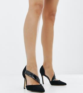 London Rebel - Wide Fit Pointed Heels