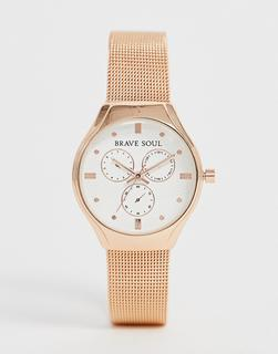 Brave Soul - ladies chronograph mesh watch