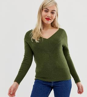 Noisy May Petite - off the shoulder knit