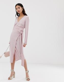 Amy Lynn - wrap front skirt