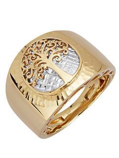 Diemer Gold - Lebensbaum-Ring Diemer Gold Gold