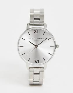 Olivia Burton - OB15BL22 Sunray – Silberne Armbanduhr