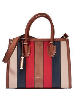 Picard - Handtasche Picard cognac/marine/rot