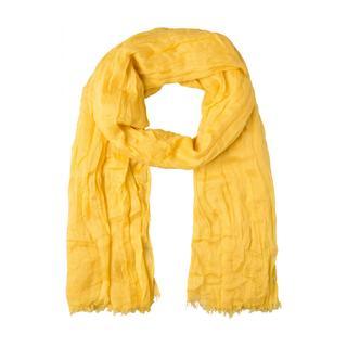 More & More - Crash-Schal, gelb