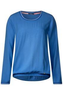 CECIL - Sportliche Struktur Bluse - cornflower blue
