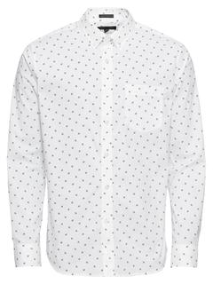 Banana Republic - Hemd ´TECH WHITE FLORAL PRINT´