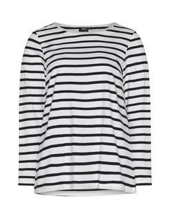 Junarose - Plus Size Long chambray denim blouse