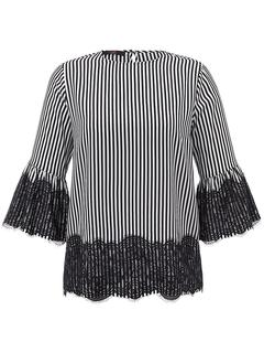 Emilia Lay - Blouse ruffled sleeves Emilia Lay black
