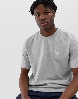 adidas Originals - Essentials DV11641 - Graues T-Shirt - Grau