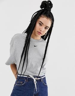 Nike - Oversize-Boyfriend-T-Shirt in Rosa - Rosa