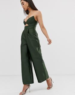 ASOS DESIGN - Structured Jumpsuit with Wide Leg