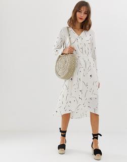 Vero Moda - abstract printed shirt dress