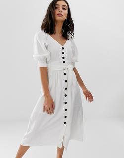 Moon River - buttondown midi dress