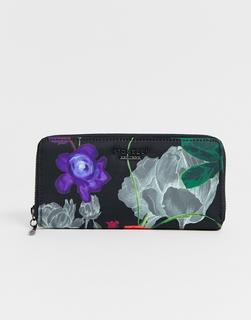 Fiorelli - botanical zip around purse