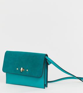 Accessorize - bright teal cross body bag