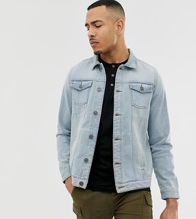 Brave Soul - slim fit denim jacket in blue wash