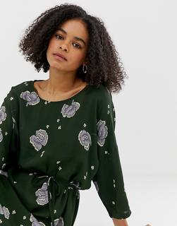 minimum - floral shift dress