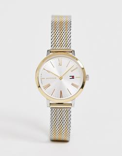 TOMMY HILFIGER - x Zendaya 1782055 – Uhr mit Netzarmband aus Metallmix-Silber